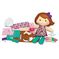 """Детский Набор для творчества 4M Шитье """"Кукла и кролик"""", игрушки для девочек"""