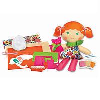 """Детский Набор для творчества 4M Шитье """"Кукла с котенком"""", игрушки для девочек"""