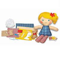 """Детский Набор для творчества 4M Шитье """"Кукла со щенком"""", игрушки для девочек"""