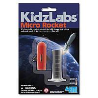 Детский Набор для творчества 4M Микроракета , игрушки для мальчиков
