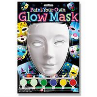Детский Набор для творчества 4M Разрисуй светящуюся маску , игрушки для мальчиков, для девочек