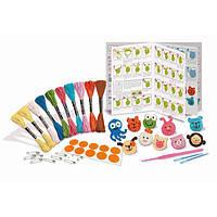 Детский Набор для творчества 4M Вязаные брошки, игрушки для девочек