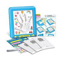 Детский Набор для творчества 4M Слепок руки, игрушки для мальчиков, для девочек