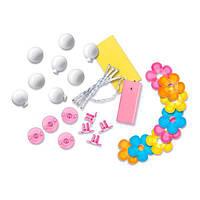 Детский Набор для творчества 4M Гирлянда из лампочек Цветы, игрушки для девочек