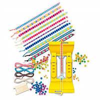 Детский Набор для творчества 4M Браслеты из бусин, игрушки для девочек