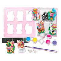 Детский Набор для творчества 4M Ламы, игрушки для девочек