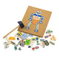 """Детский Набор для творчества Viga Toys """"Робот"""", игрушки для мальчиков"""