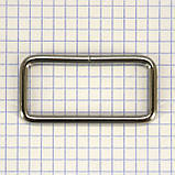 Рамка проволочная 50 мм никель для сумок t4129 (20 шт.), фото 3
