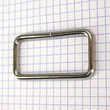 Рамка проволочная 50 мм никель для сумок t4129 (20 шт.), фото 4