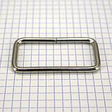 Рамка проволочная 50 мм никель для сумок t4129 (20 шт.), фото 5