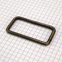 Рамка проволочная 50 мм антик для сумок t4129 (40 шт.), фото 1