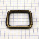 Рамка проволочная 25 мм антик для сумок t4137 (20 шт.), фото 3