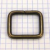 Рамка проволочная 25 мм антик для сумок t4137 (20 шт.), фото 4