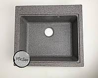 Гранитная кухонная мойка Platinum Vesta 58*52 Микс