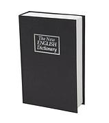 """Сейф книга """"Англійський словник"""" металевий сховок з замком"""