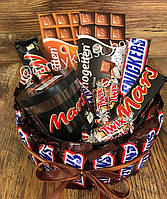 Подарунковий Набір з солодощами №12 (Подарункові набори/Подарочные наборы/Наборы со сладостями)