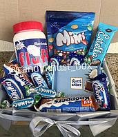 Подарунковий Набір з солодощами №13 (Подарункові набори/Подарочные наборы/Наборы со сладостями)