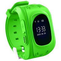 Дитячі смарт годинники наручні Smart Baby Watch Q50 з GPS, зелений, 400mAh, Android / iOS, Bluetooth