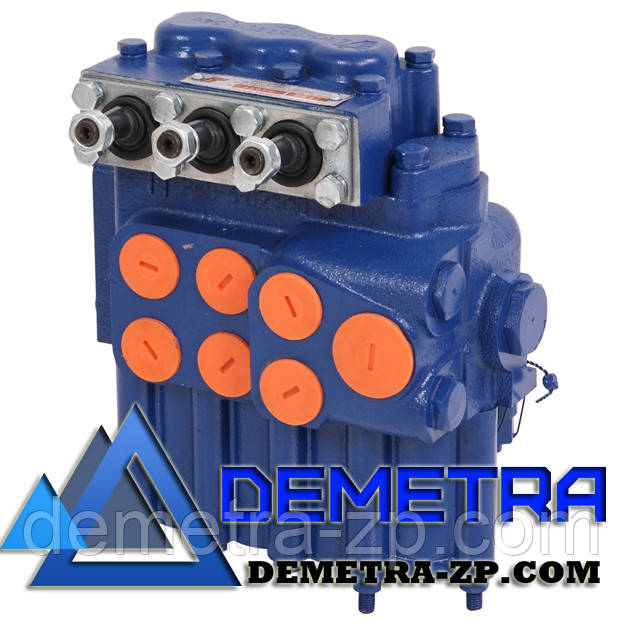 Гидрораспределитель Р-80 3/4-222 МТЗ-80, МТЗ-100, МТЗ-1221.