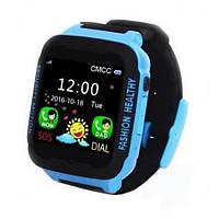Дитячі розумні годинники наручні Smart Watch K3 чорно-синій