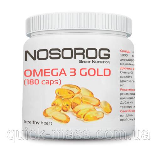 Омега-3 Nosorog Omega 3 Gold 180caps