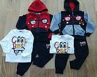 Спортивный костюм 3 в 1 для мальчика, Crossfire, 6,12,30 мес.,  № ZOL-0294