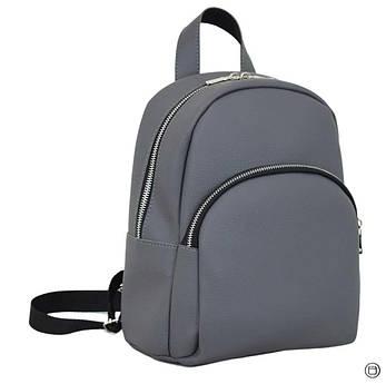 Женский рюкзак Case 652 серый, фото 2