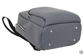 Женский рюкзак Case 652 серый, фото 3