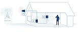 Репитер усилитель Lintratek KW16L GSM, 4G LTE 900 МГц (усиленный комплект), фото 3