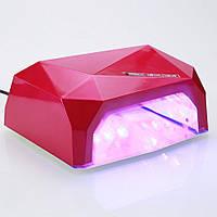LED лампи для сушіння гель лаку Quick CCFL LED Nail Lamp 36Вт, таймер від 10 до 60сек, дно знімне, лампа для сушки нігті