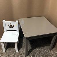 Детский столик и стульчик Корона