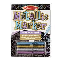 Набір для малювання з металік-маркерами Melissa&Doug (MD9320), фото 1