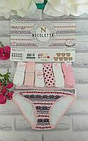 Трусы женские недельки S-40 размер Турция Nicoletta за 7 шт, фото 1