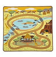 """Ігровий килимок з тваринами """"Сафарі / Саванна"""" Melissa&Doug (MD19428)"""