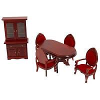 Меблі для їдальні Вікторіанського будиночка Melissa&Doug (MD2586)