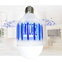 LED лампочка Zapp Light противомоскитная покрываемая площадь 60кв.м, ультрафиолет, 10Вт, Уничтожители насекомых