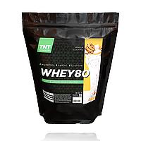 Протеин для роста мышц Muskle Grow Whey Target Nutrition Trend Poland, 2 кг  80% белка + ВСАА ваниль
