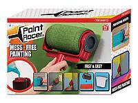Валик малярный для покраски 2в1 Paint Racer PRO № H32 отсек для краски, микрофибра, пластик, валик