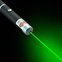 Лазер зеленый, светит зеленой точкой