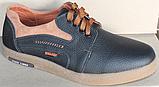 Туфли на шнурках мужские кожаные от производителя модель ВОЛ253, фото 4