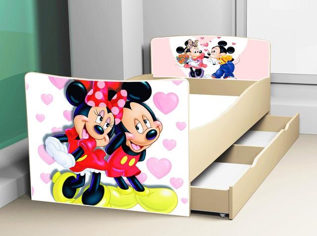 Детская кровать с ящиками серия Киндер