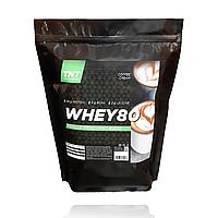 Протеин Актив Масс Muskle Target Nutrition Poland, 2 кг 80% белка + ВСАА Кофейный крем
