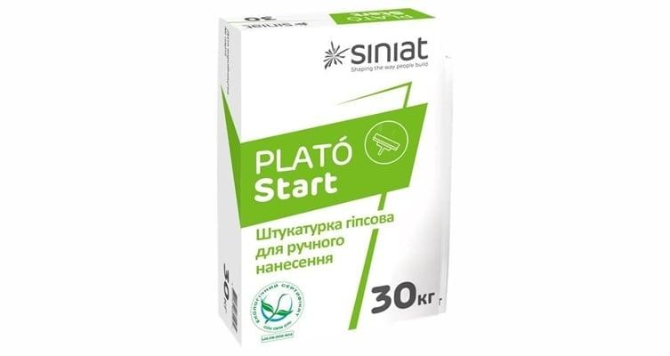 Штукатурка PLATO Start гипсовая ручная, 30 кг