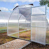 Теплица Садовод Агро 300х800х200 см с сотовым поликарбонатом 8 мм SKL54-240903, фото 6
