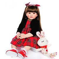 Кукла реборн винил-силикон 60 см