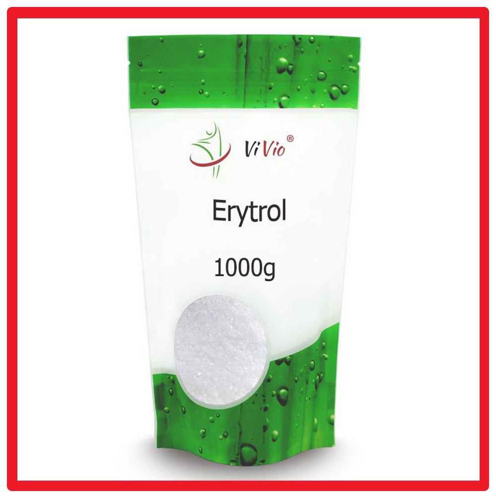 Эритритол (Эритрит, Эритрол), Сахарозаменитель 100% чистый еритритол Erytrol Vivio (1000 g)