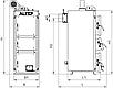 ALtep Duo Uni Plus 40 кВт экономичный котел на твердом топливе длительного горения с автоматикой, фото 9