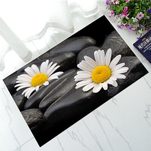 Коврик 3D прорезиненный «Flowers» 45×75 см