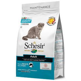 Сухой корм для кошек Шезир Schesir Cat Adult Fish с рыбой 400 г