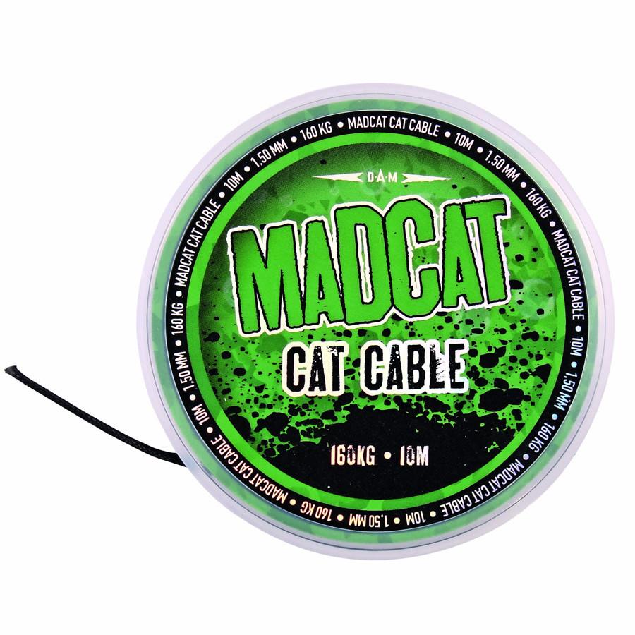 Поводочный материал DAM MADCAT Cable 10м 1.35мм 160кг